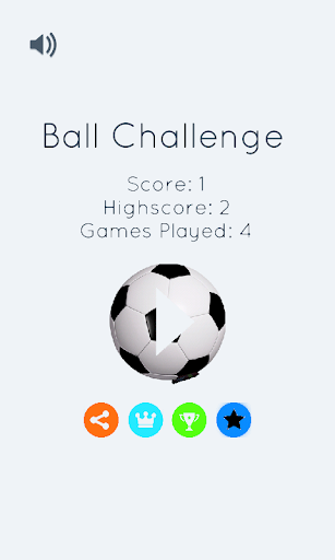 Ball Challenge -Stay in Circle