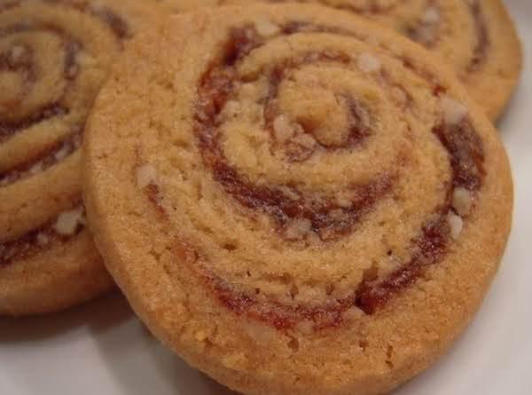 Date Pinwheel Swirl Cookies