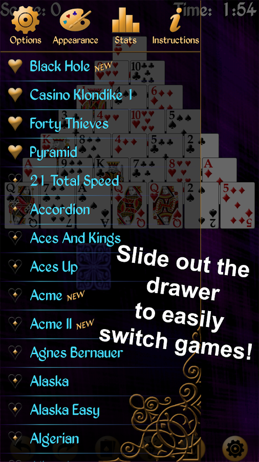 how to play solitaire scratchie