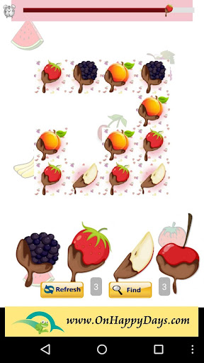 Chocolate Fruit Link Game