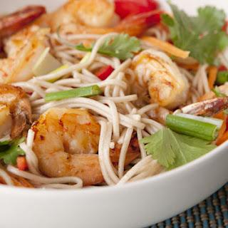 Shrimp Soba Bowl.