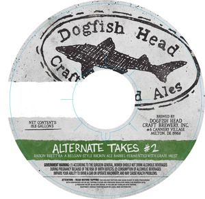 Logo of Dogfish Head Alternate Takes #2