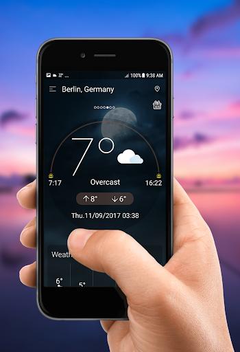 توقعات الطقس اليومية screenshot 1