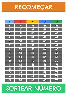 Sorteador de Bingo - náhled