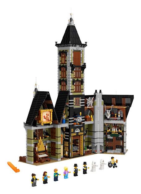 Contenido de Lego® 10273 Casa Encantada de la Feria