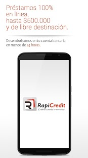 Rapicredit Móvil- screenshot thumbnail