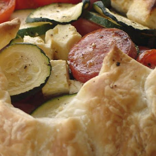 Mediterranean Vegetable Tart
