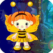 Best Escape Games 136 Butterfly Girl Escape Game