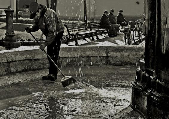 Pulizia sotto stretta sorveglianza.. di AlfredoNegroni