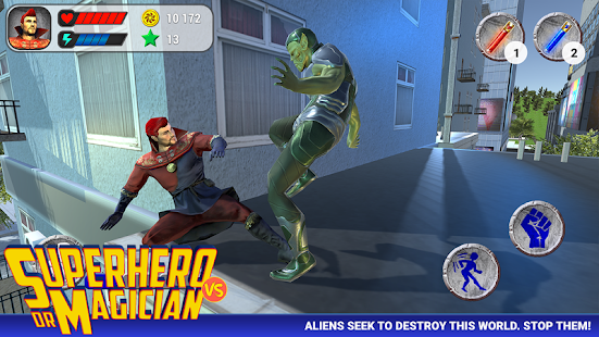 Superhero vs Doctor Magician Screenshot