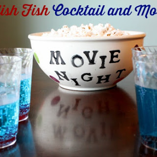 Swedish Fish Cocktail and Mocktail.