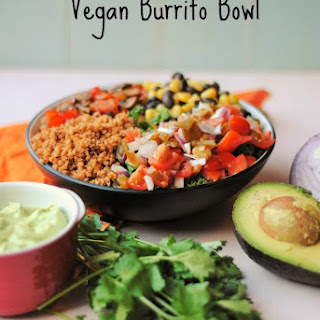 Vegan Burrito Bowl.