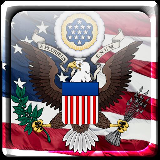 American Flag Live Wallpaper 個人化 App LOGO-APP試玩