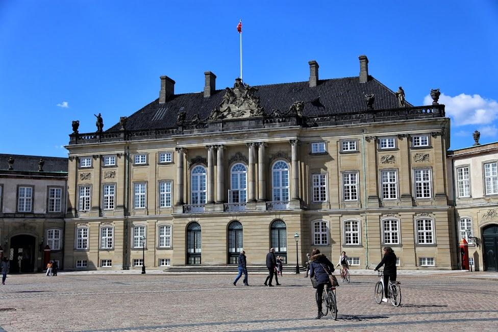 Kopenhaga, Amalienborg Slot