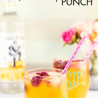 Raspberry Rum Punch.