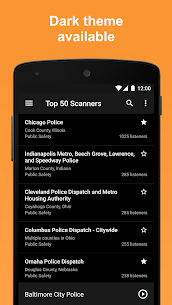 Scanner Radio Pro – Fire and Police Scanner 8