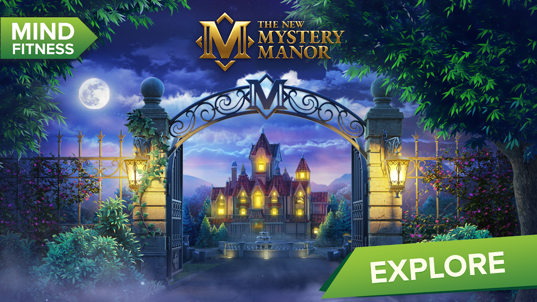 Mystery Manor: hidden objects Android App Screenshot