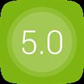 GO Launcher EX UI5.0 theme icon
