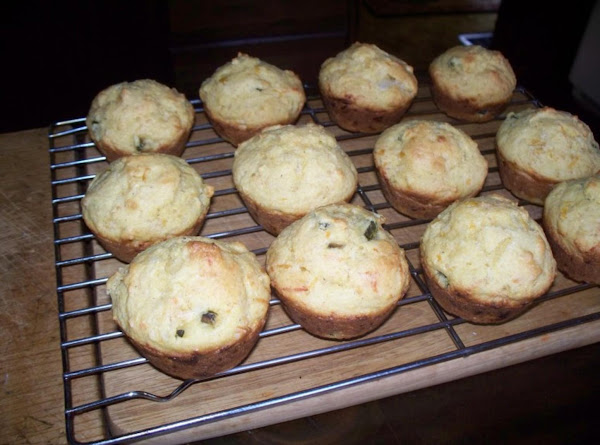 Jalapeno And Cheese Cornmeal Muffins Recipe