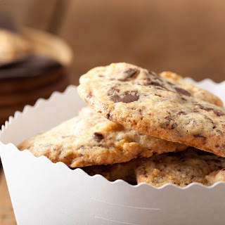 Schoko-Cookies mit Marzipan