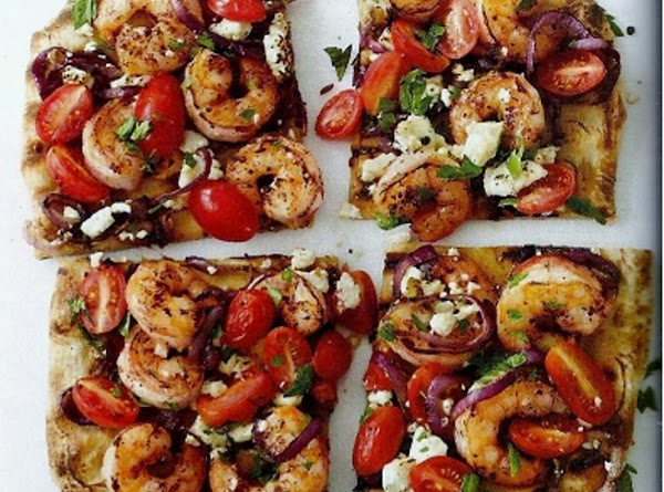 Grilled Shrimp Pizza Recipe