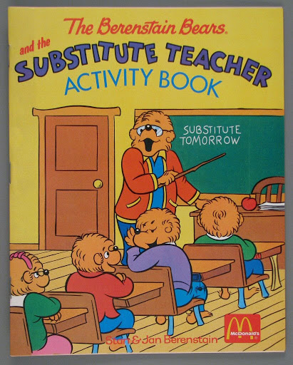Activity book | coloring book:The Berenstain Bears and the Substitute teacher