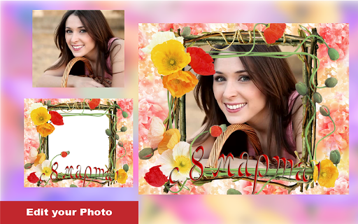 Love Flower Photo Frame new 2018  screenshots 5