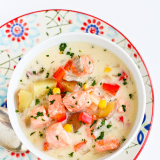 Light Salmon & Potato Chowder