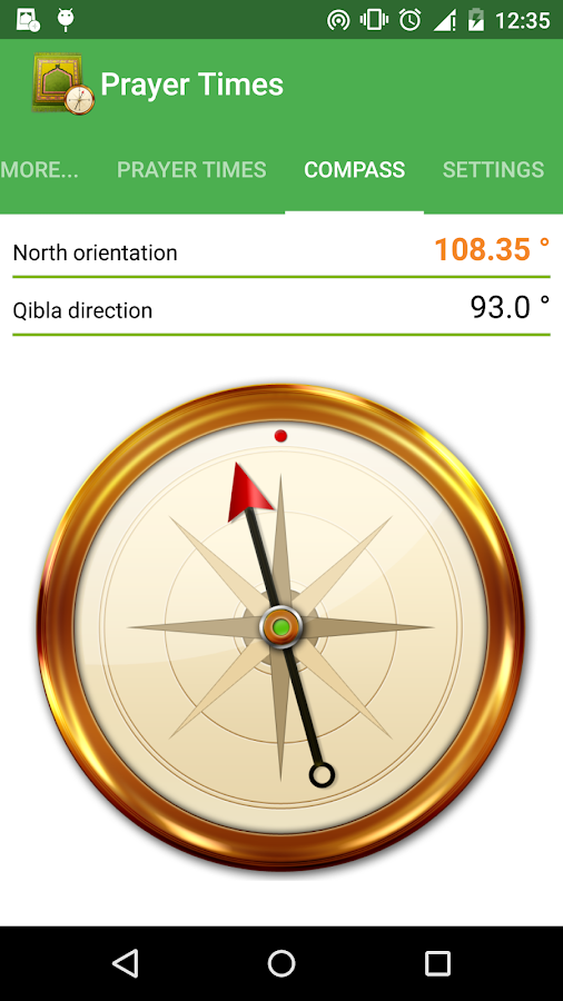 Islamic Prayer Times & Qibla - screenshot
