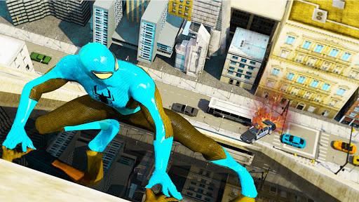 Amazing Frog Rope Web Hero: héros de puissance  captures d'écran 1