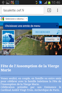 Nossa Senhora da Salette screenshot 2