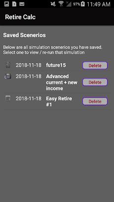 Retirement Investing Calculator Simulator - Retireのおすすめ画像4