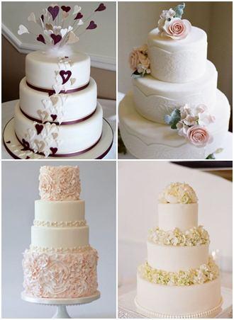 婚礼蛋糕的想法