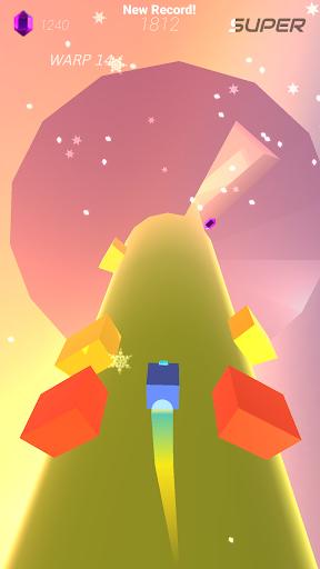 Warp and Roll - running flight action game 1.1.7 screenshots 2