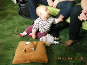 Photo: 29 XII 2011 roku -  mała  Alice - córeczka Agnieszki