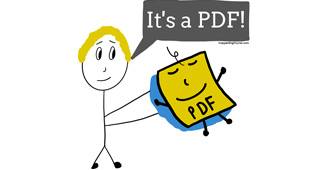 How to make a PDF (for Free, without Adobe)
