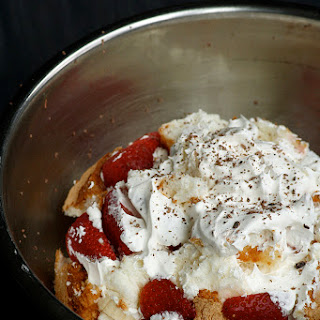 Semi-Homemade Angel Food Cake Strawberry Trifle