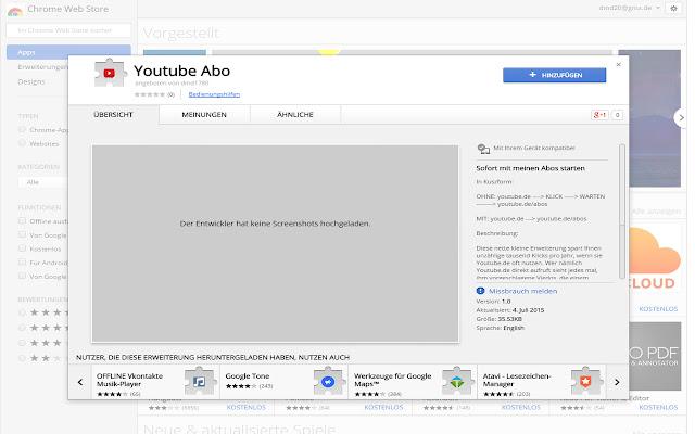 Youtube Abo