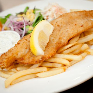 Better-Than Applebee's Hand-Battered Fish and Chips
