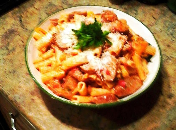 Rigatoni With Sweet Italian Sausages And Peppers Recipe