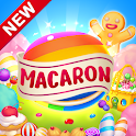 Macaron Pop : Sweet Match3 Puzzle icon