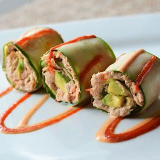 5 Minute Spicy Tuna Rolls.
