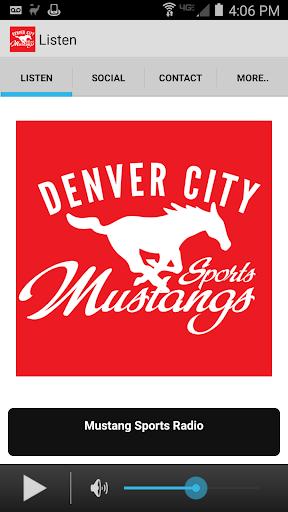 Mustang Sports Radio