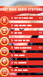 Best Rock Radio Stations - náhled