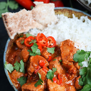 Slow-Cooked Spicy Chicken Curry.