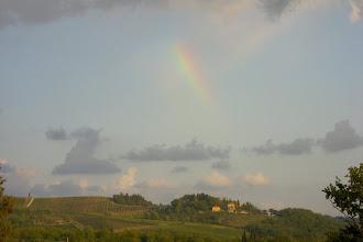 Photo: Rainbow in Chianti, Italy