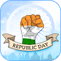 Republic day icon