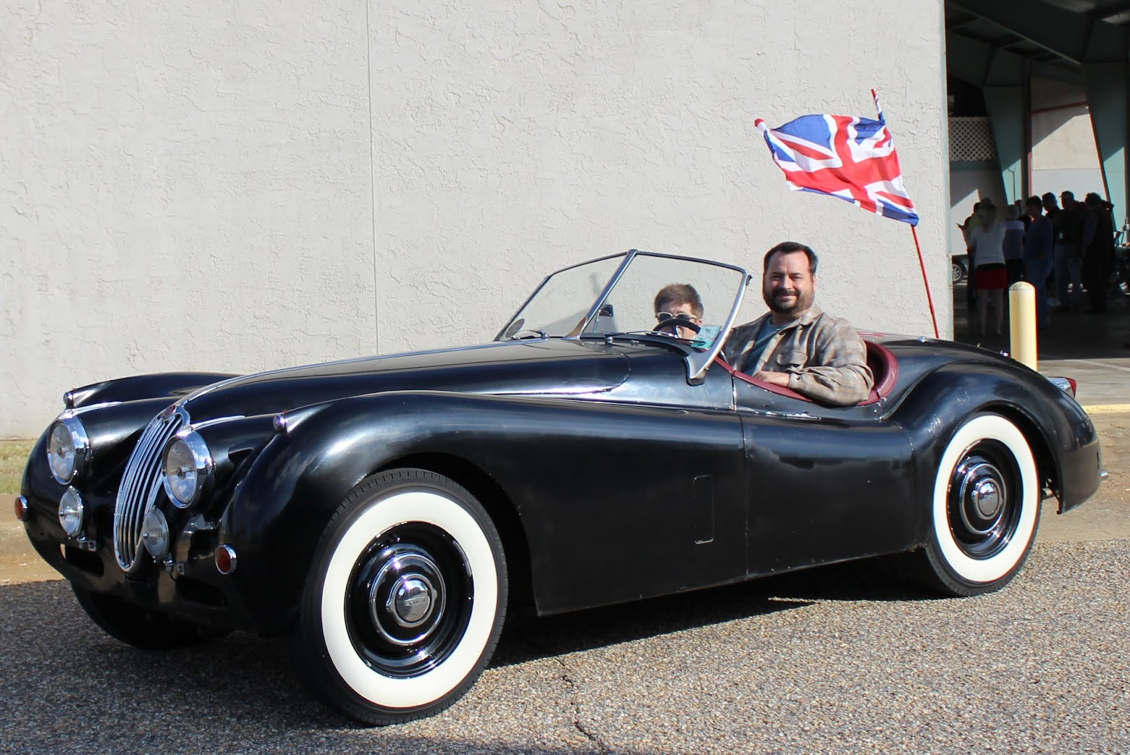 2016 British Car Show Motoring Club Wiring Diagrams 1957 Jaguar Xk140 Paul Casarona Ots