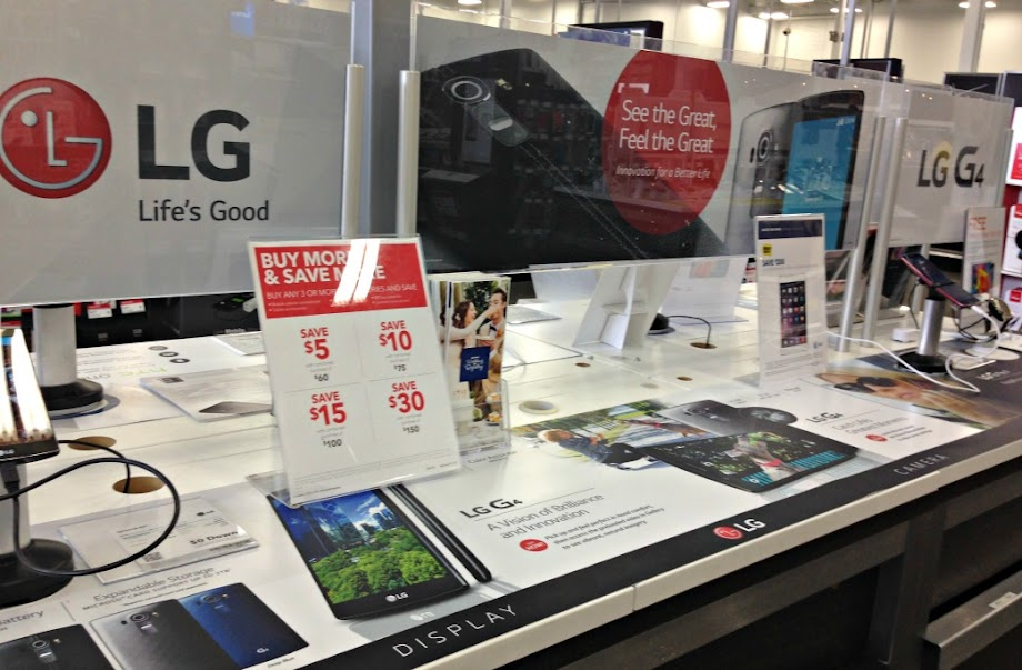 LG G4 at Best Buy