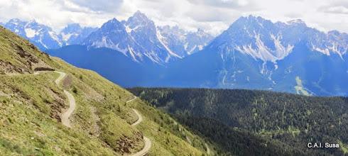 Photo: Panorama verso le Tre Cime